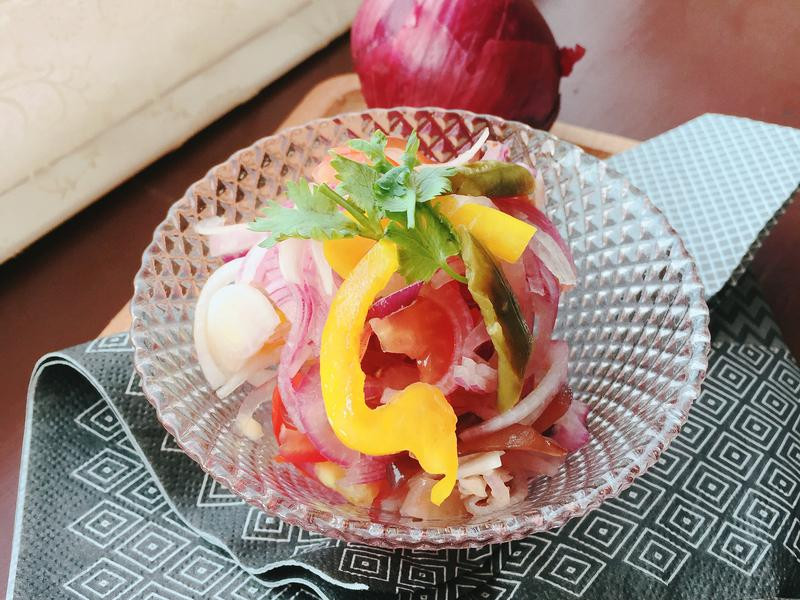 泰泰開胃之涼拌紅洋蔥