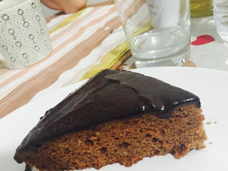 有機巧克力蛋糕 (無奶油無牛奶無蛋)