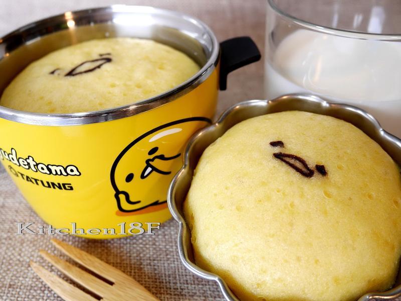 牛奶蒸蛋糕_電鍋料理  20分鐘 蛋黃哥