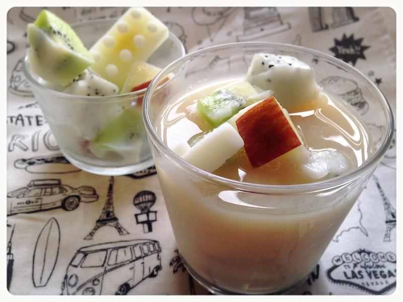 清涼一夏!這款水果鮮奶茶降火又健康!