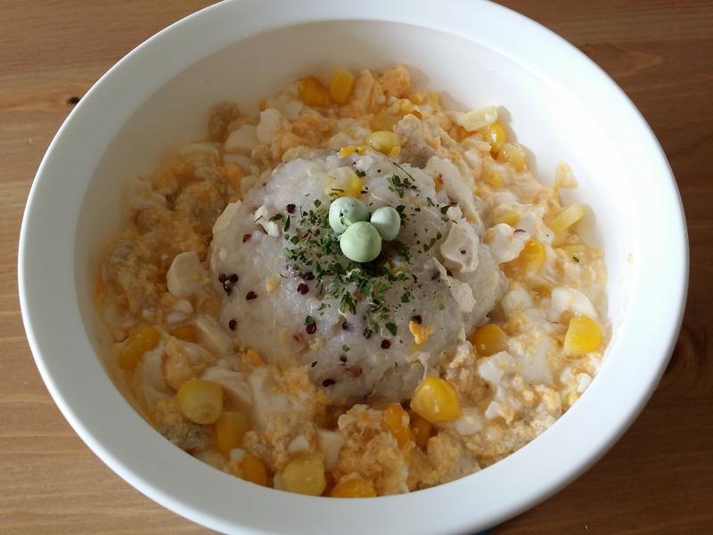 【寶寶食譜】豆腐粟米肉粒拌飯