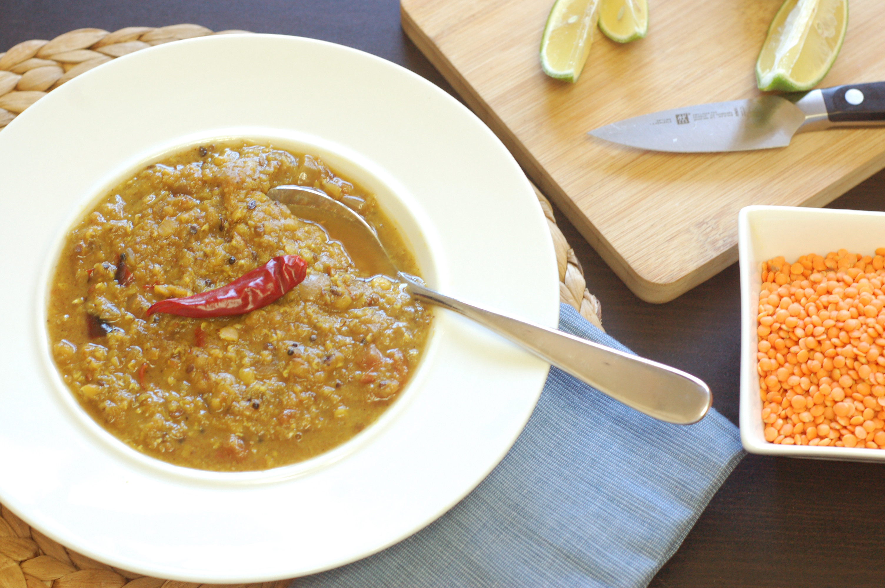 超美味蔬食 - 紅扁豆咖哩