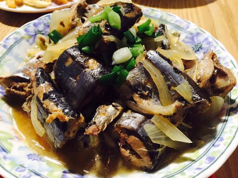 味噌秋刀魚