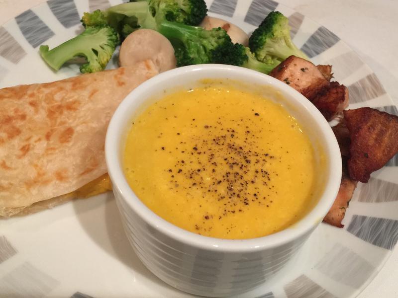 超級簡單又營養的南瓜濃湯