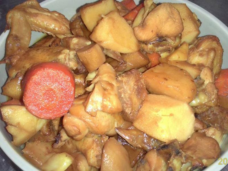 醬燒野蔬雞翅