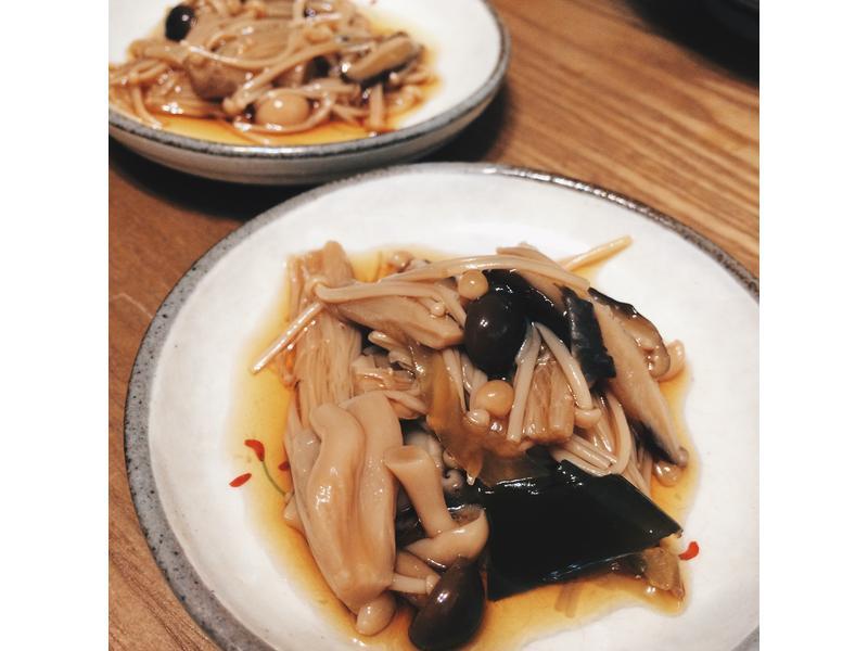 日式醬油煮香菇小菜