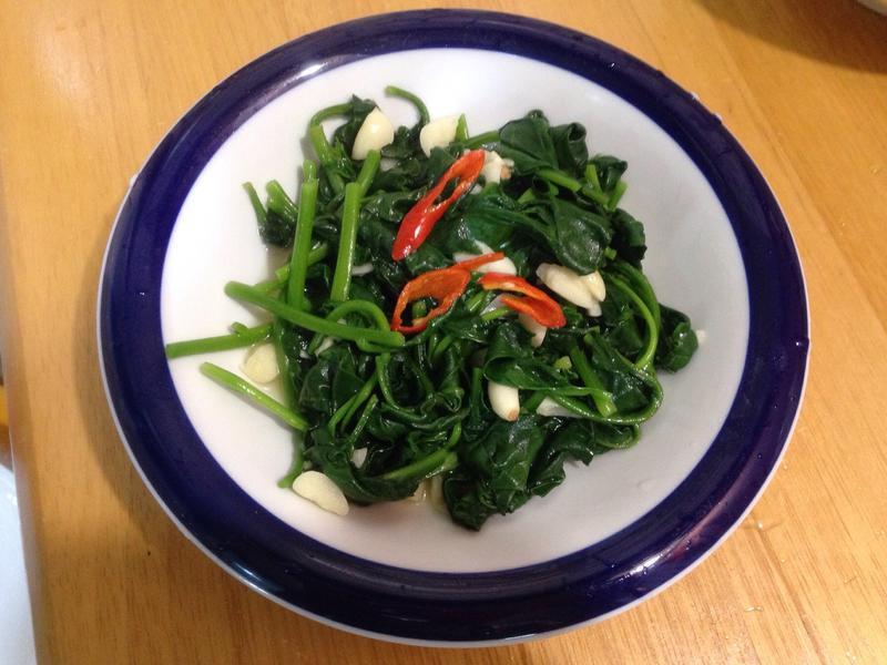 蒜炒黃宮菜