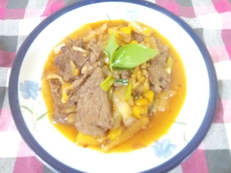 水蜜桃牛肉