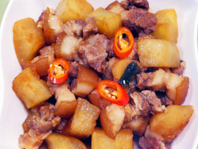 【厚生廚房】蘿蔔燉肉