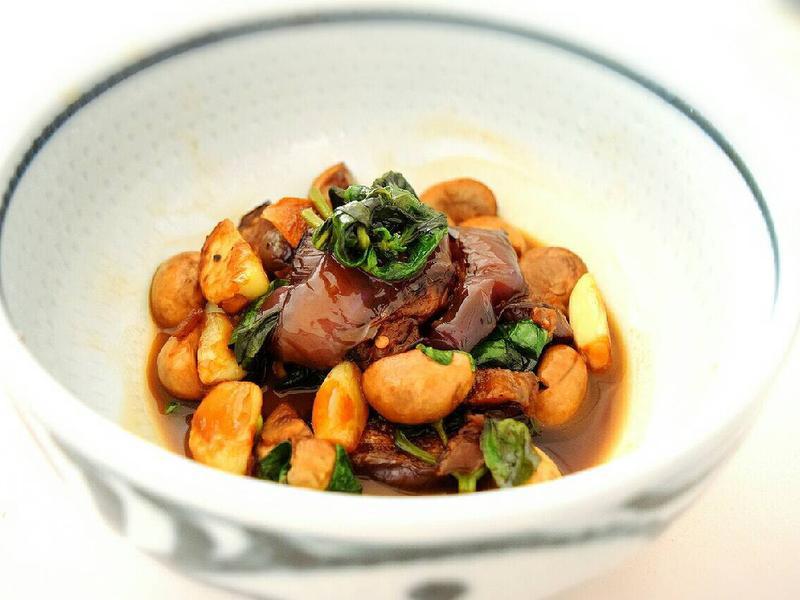 三杯茄子蘑菇[超下飯!]