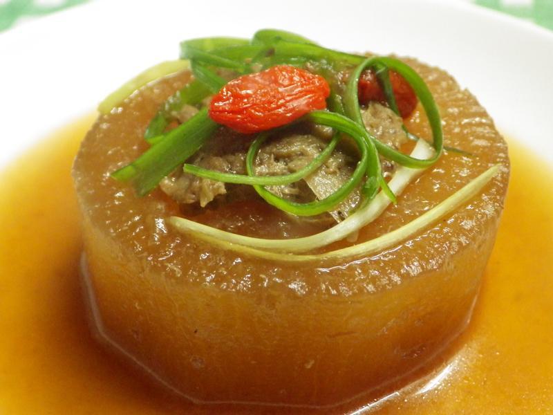 醬燒蘿蔔鑲肉