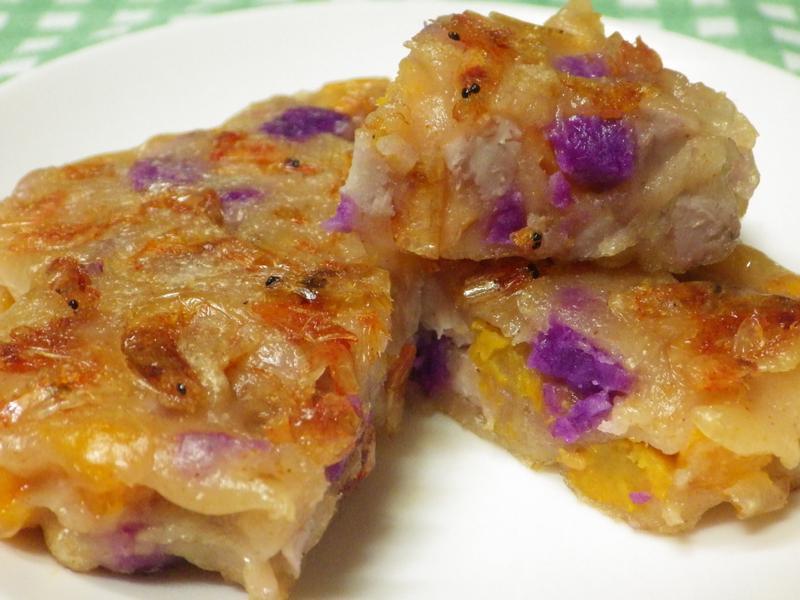 三色櫻花蝦煎餅
