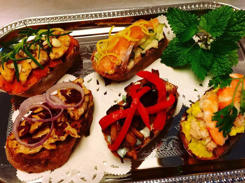 開放式三明治