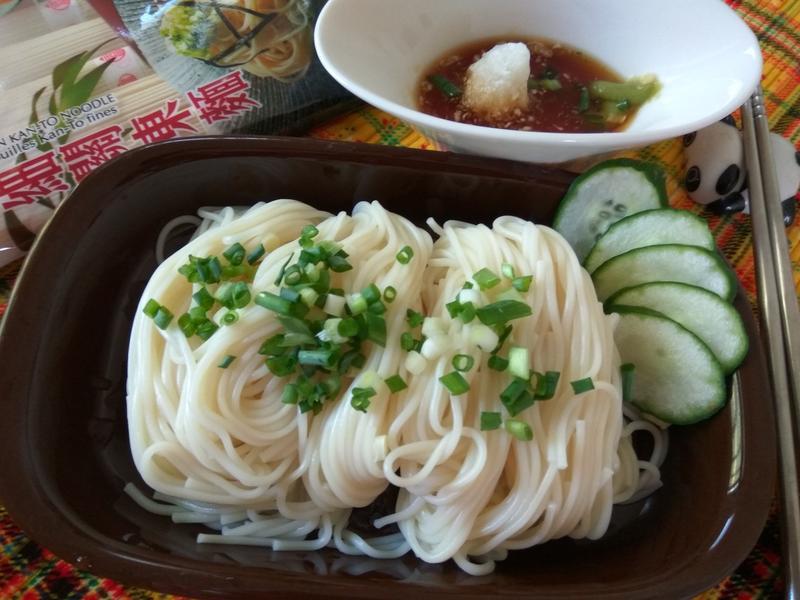 芥末鰹魚涼麵─五木拉麵