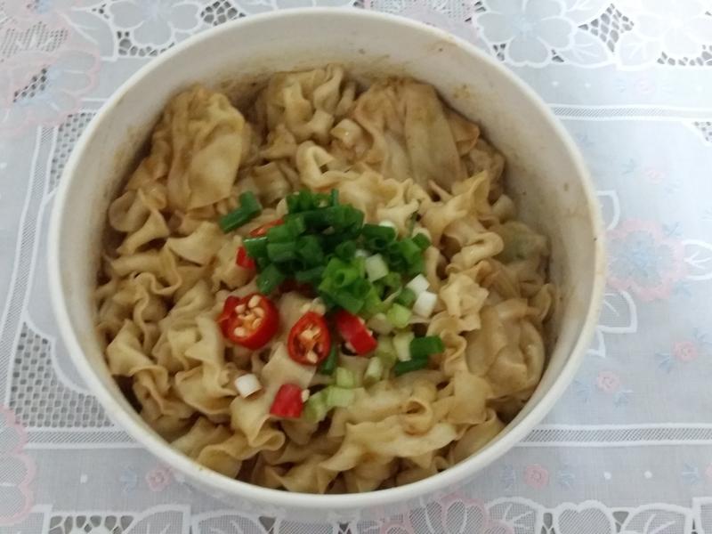 【五木拉麵】-簡易紅油炒手麵