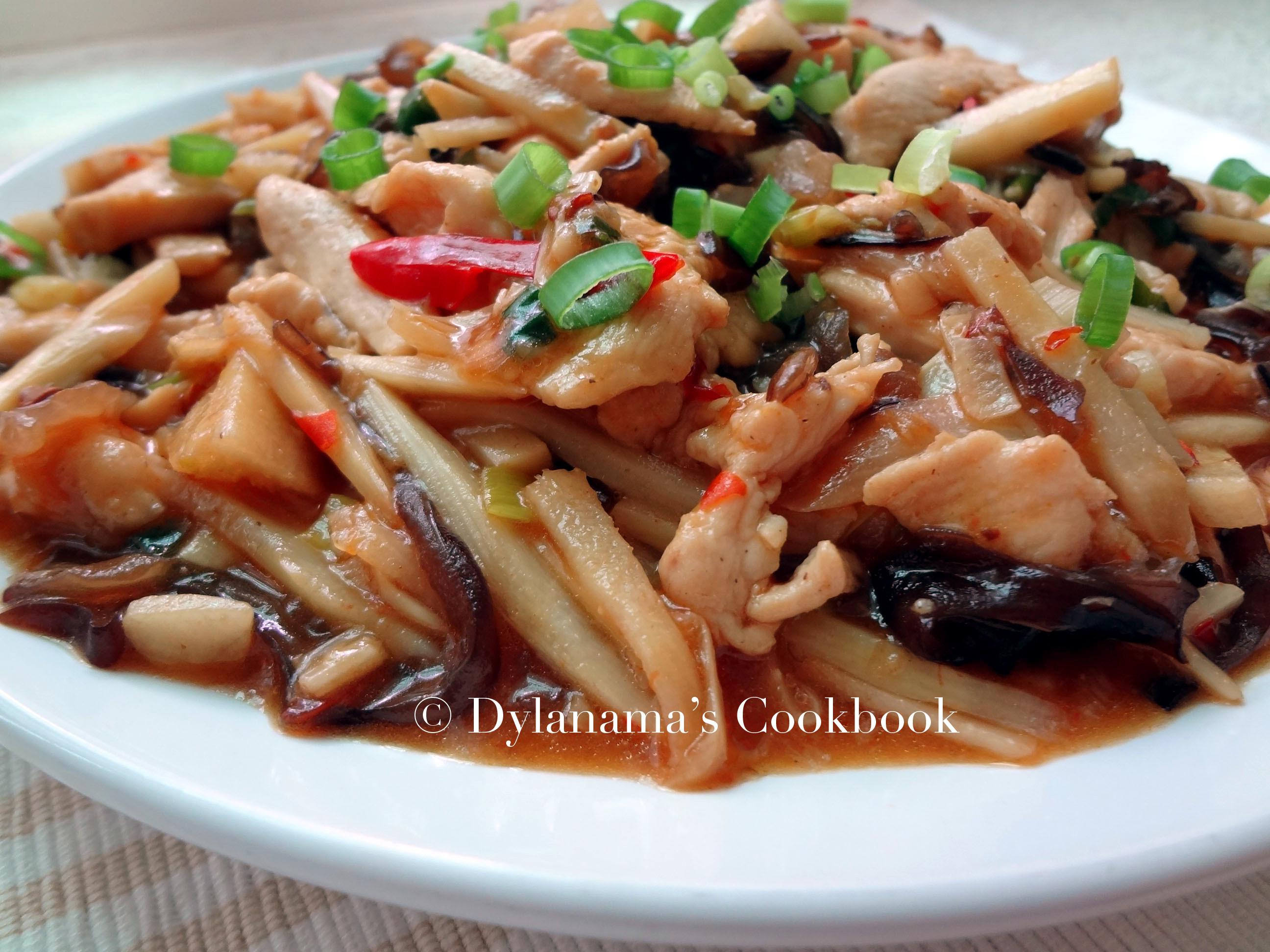 DYLANAMA ♥ 魚香肉絲