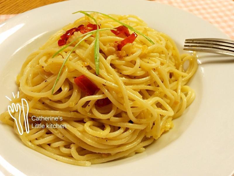 🇮🇹蒜香橄欖油義大利麵-韓白鍾元老師