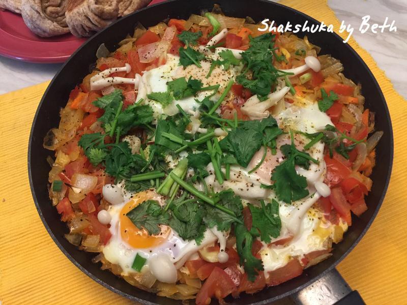 蕃茄燒蛋 - Shakshuka
