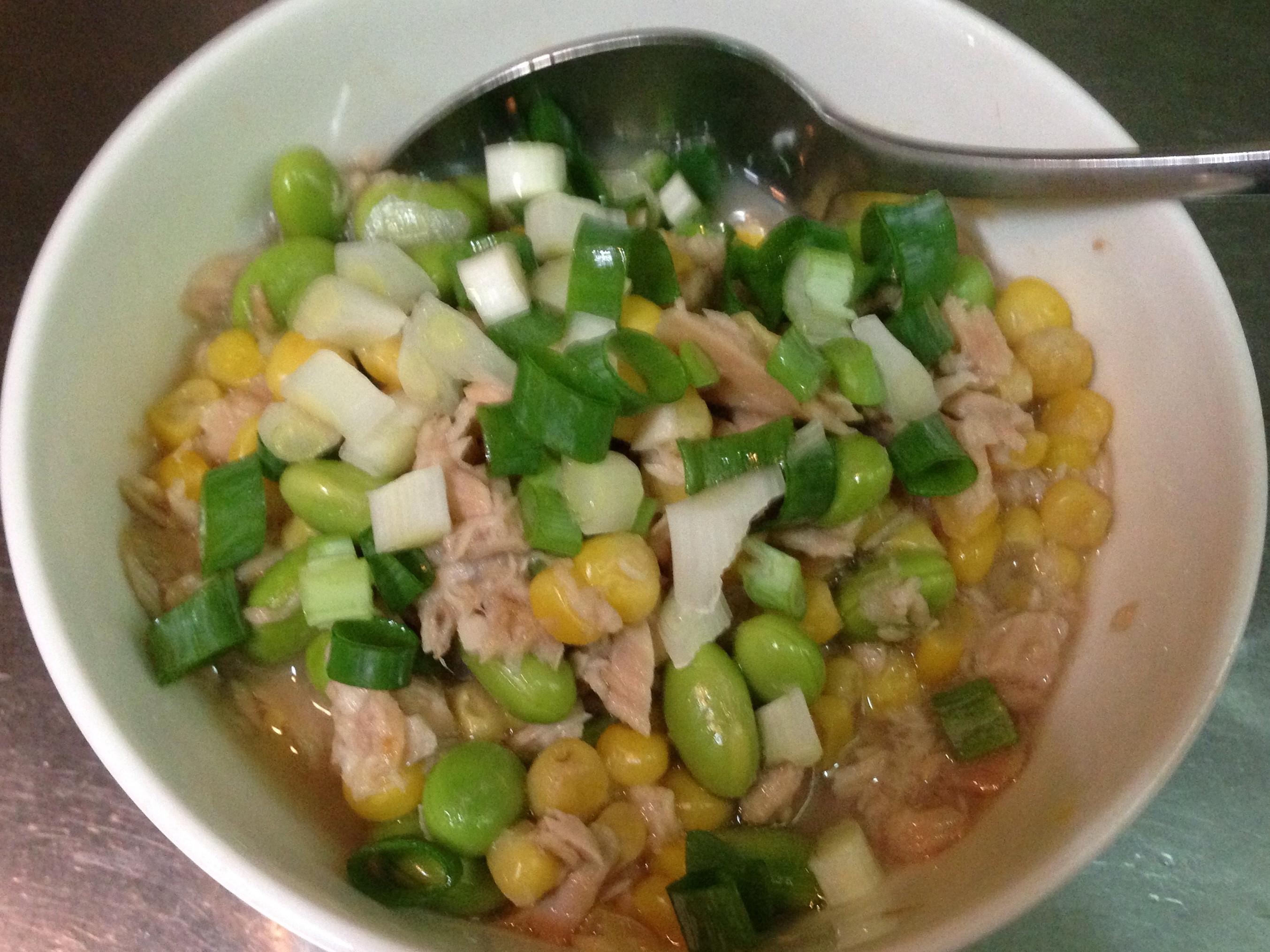 鮪魚玉米炊