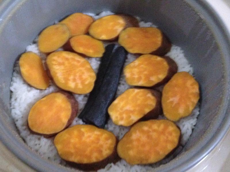 紅心地瓜炊飯