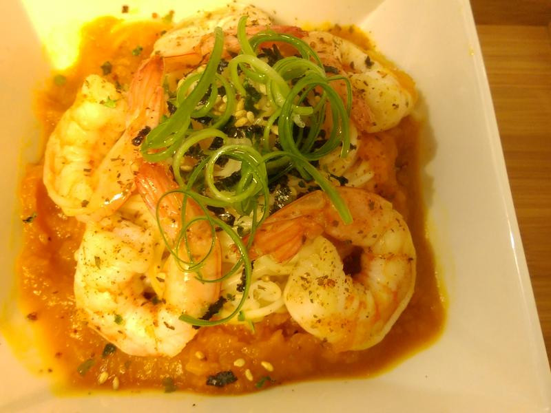 かにの黃金蝦麵-五木拉麵