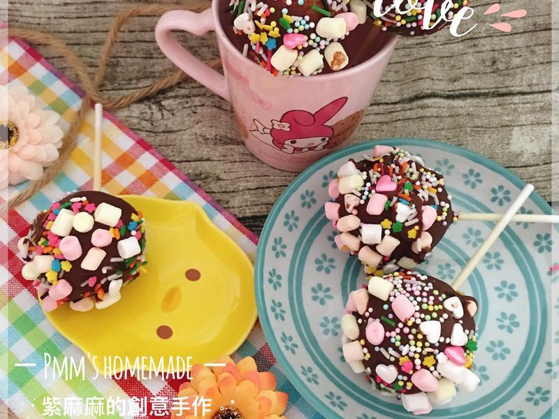 ❤️巧克力棒棒糖蛋糕❤️