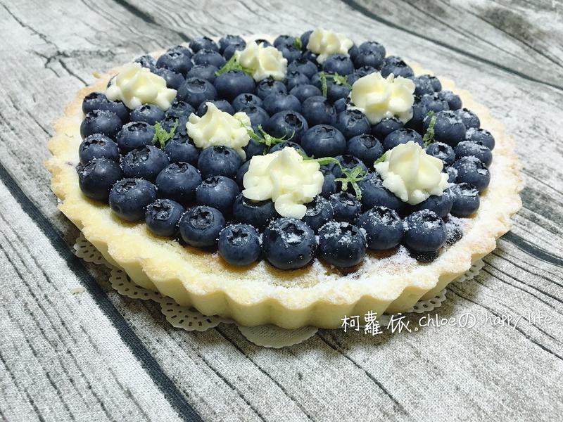 藍莓杏仁奶油塔