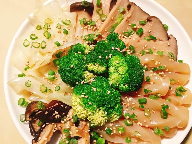 綜合菇蔬食滷味~ 冰鎮吃也OK!