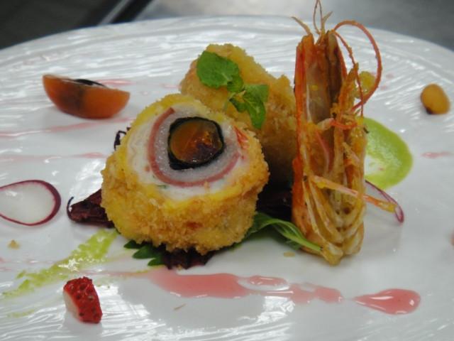 玫瑰蛋黃大蝦