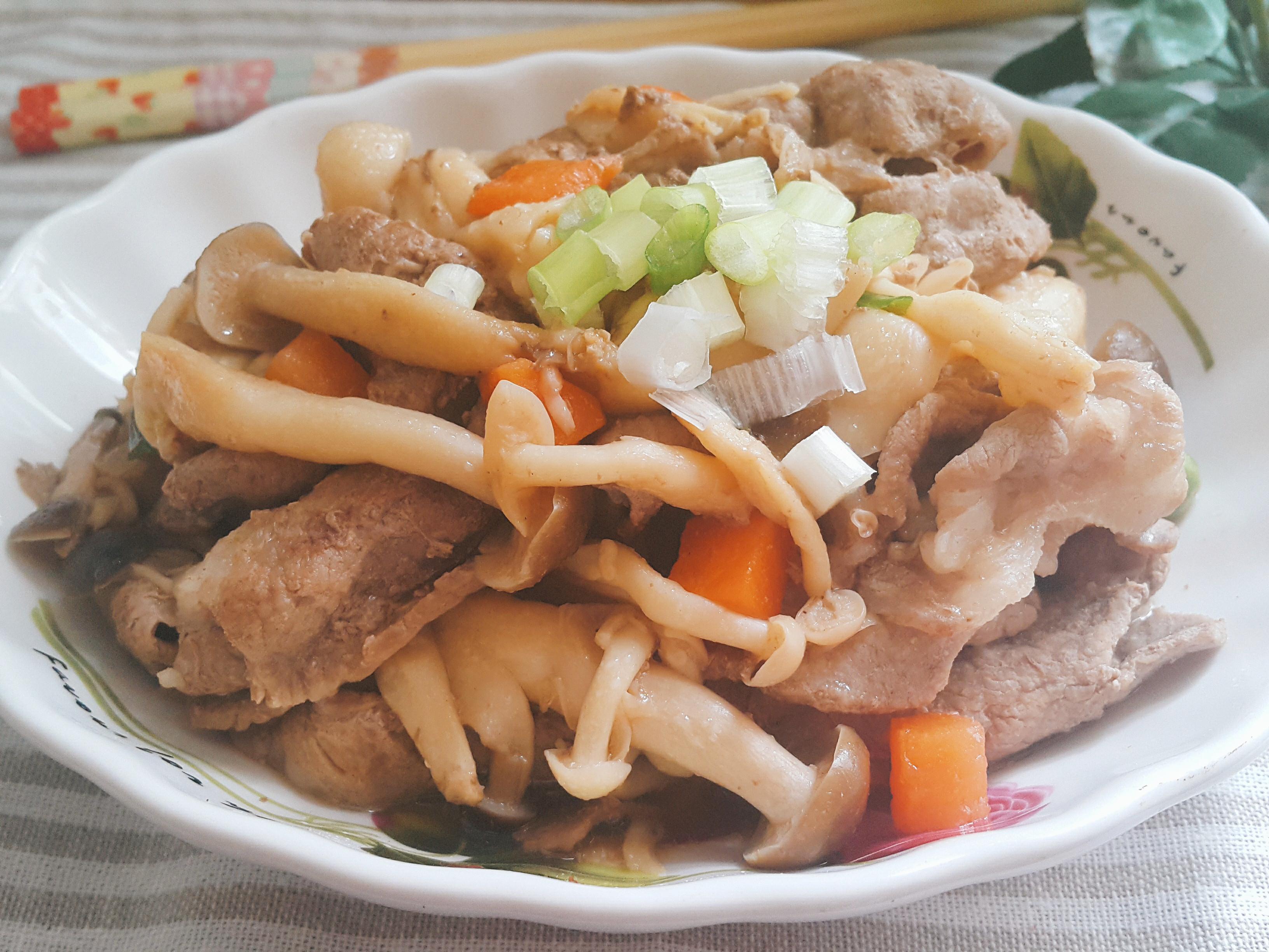 醬香菇菇肉片
