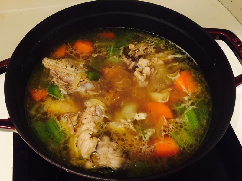 法式燉湯(雞高湯)