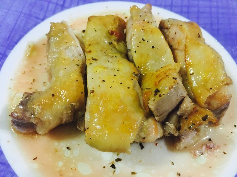 義式香煎雞腿排