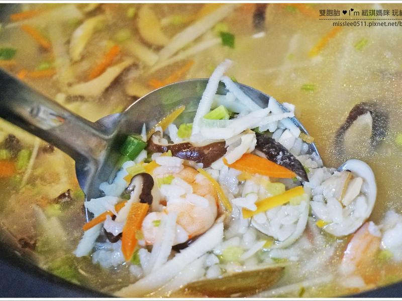 海鮮筍子鹹粥