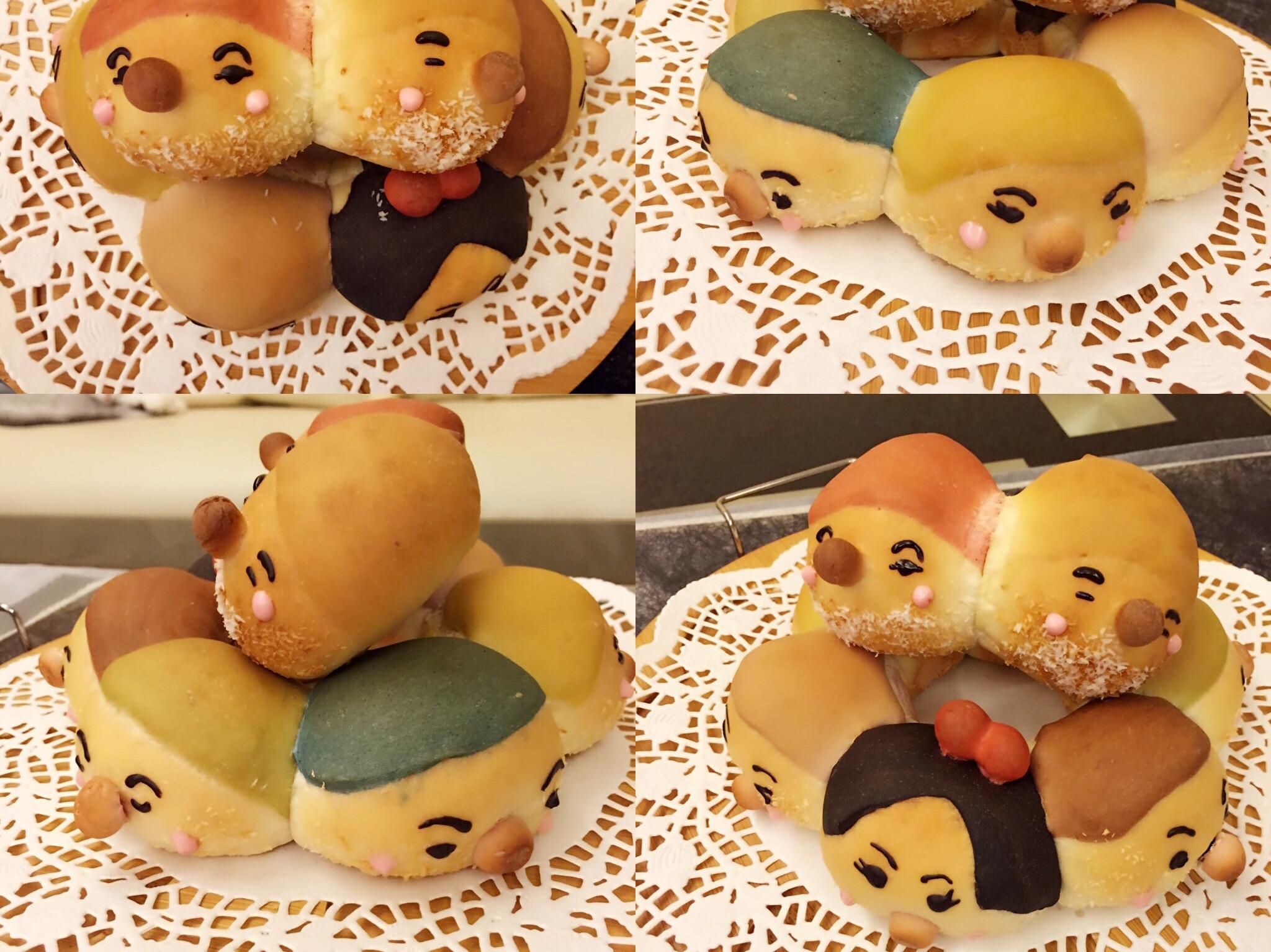白雪公主和七矮人麵包