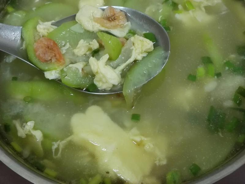 絲瓜蛋花湯