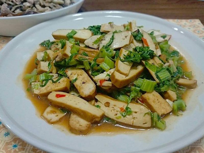 ◆瑪菲蘇◆辣炒雪菜豆干