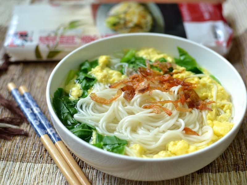 蔬菜蛋花麵-五木拉麵