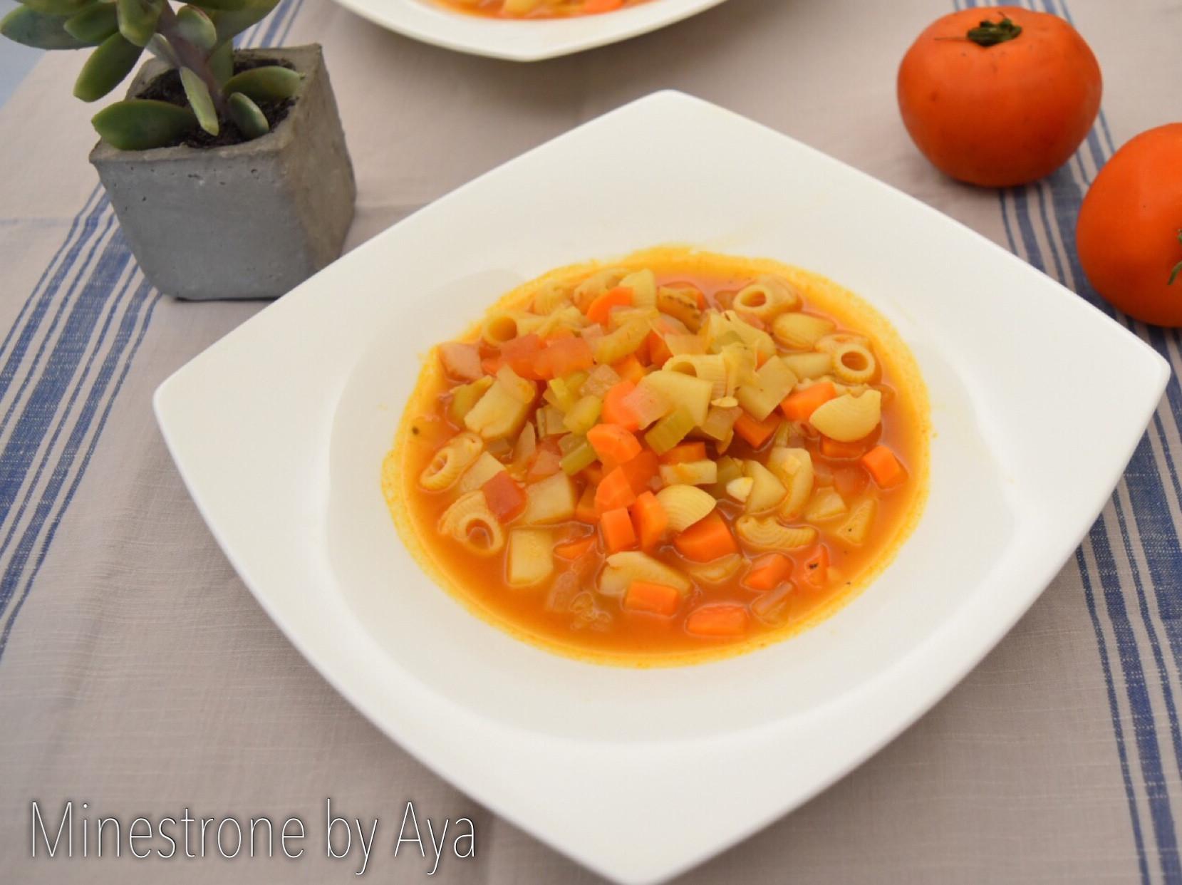 義式番茄蔬菜湯