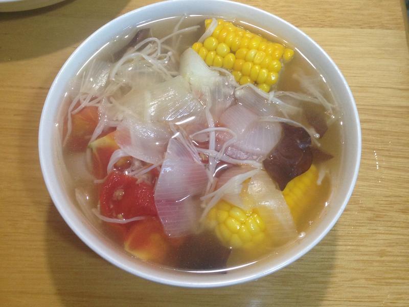 蕃茄玉米菇菇湯