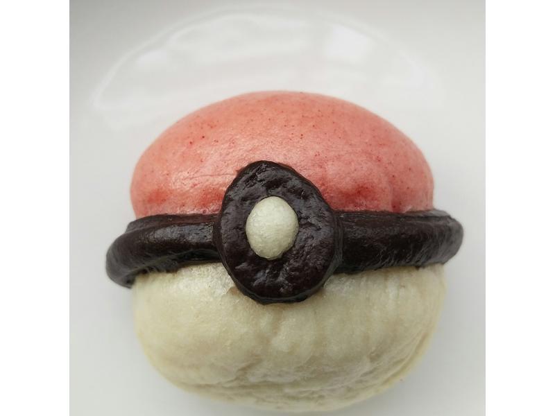 寶可夢精靈球造型饅頭