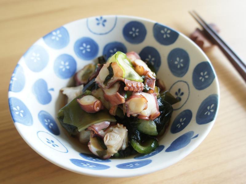 夏日清爽開胃菜:醋拌章魚