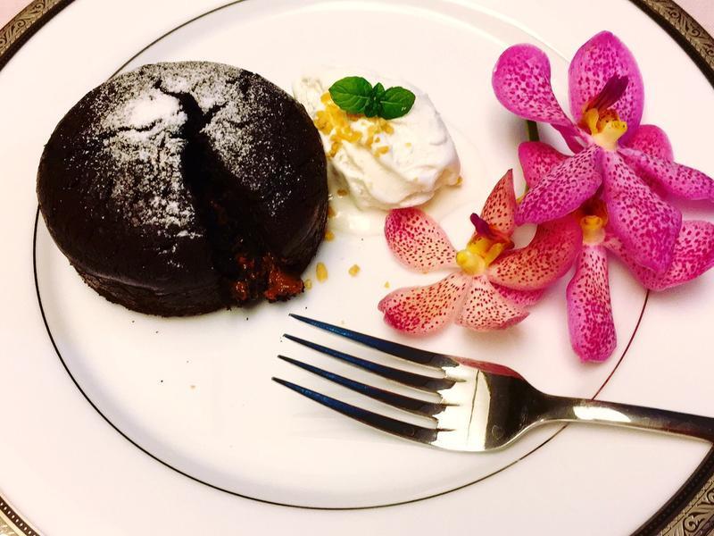 巧克力溶岩蛋糕