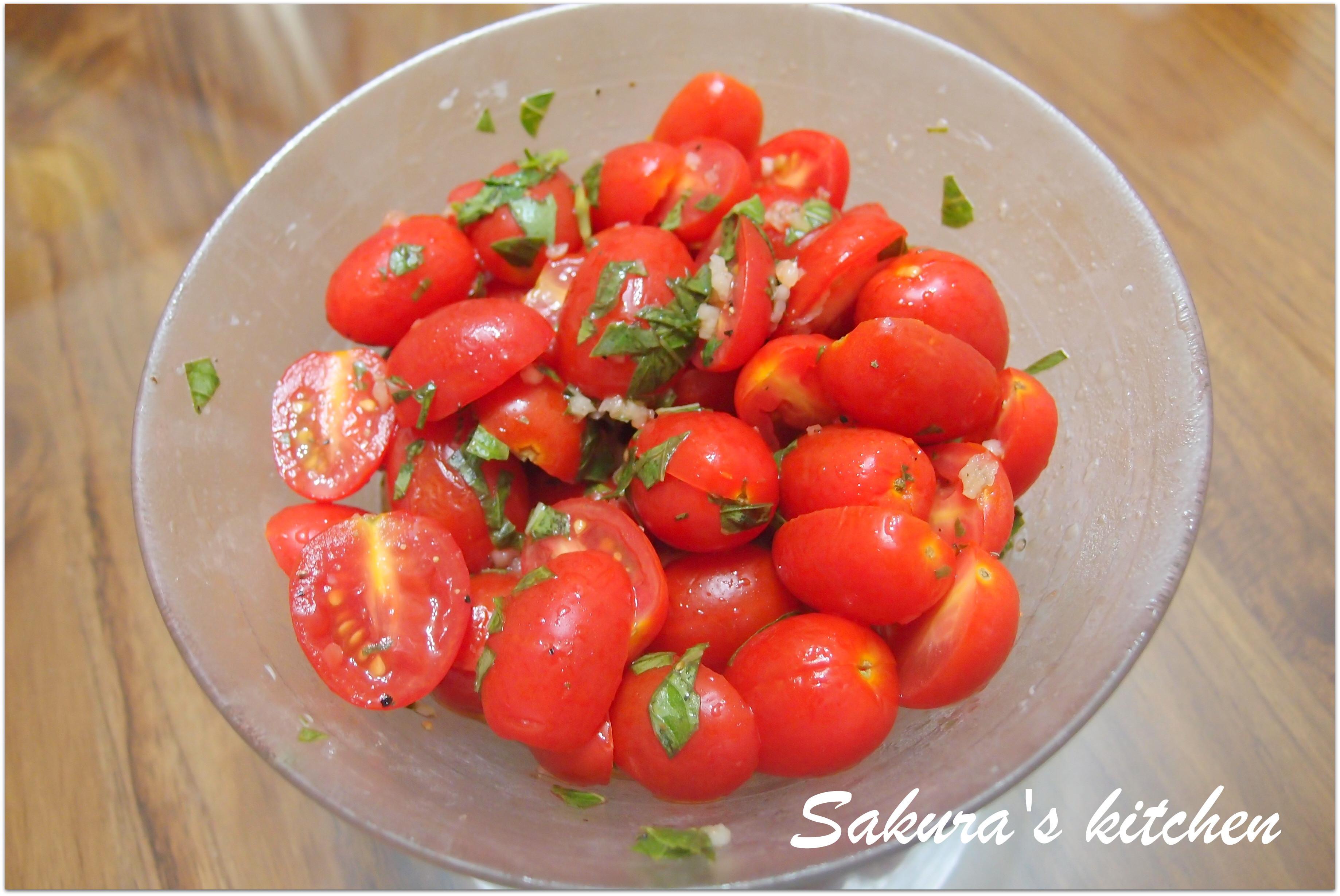 ♥我的手作料理♥ 油醋聖女小蕃茄