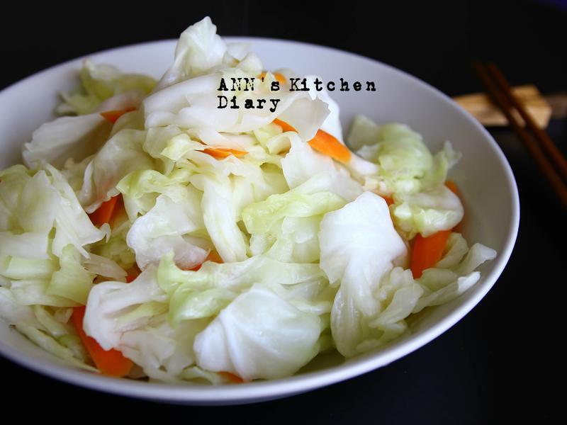 家常清炒高麗菜