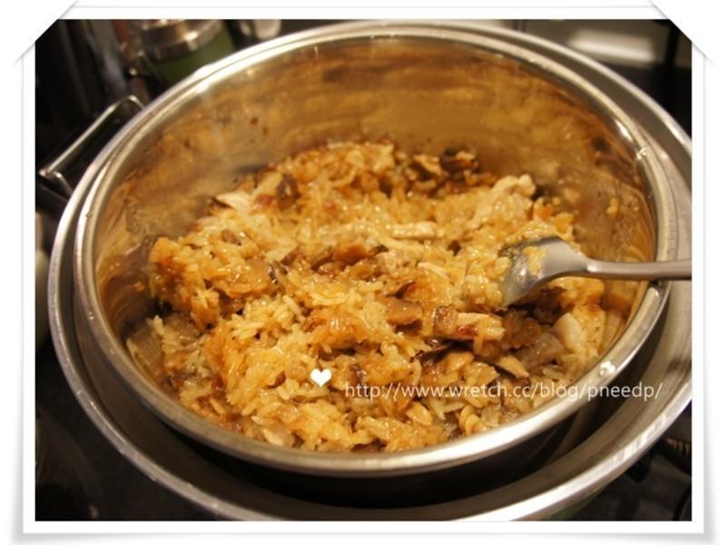 留學生輕鬆煮-簡易油飯