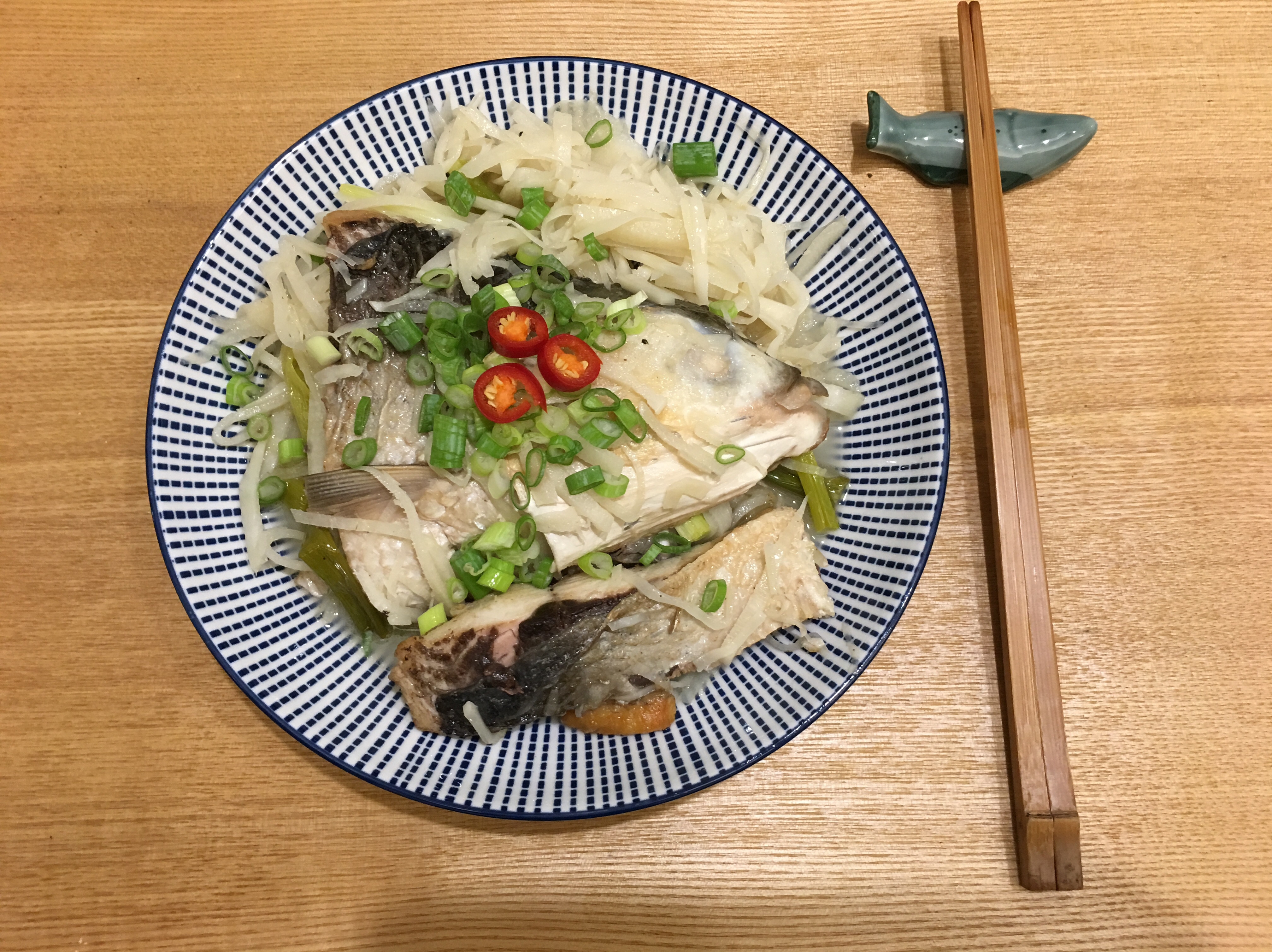 酸筍香煎虱目魚