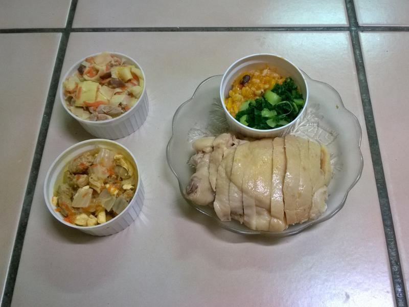 鮮食🐾竹筍炒肉 西魯肉 海南雞飯