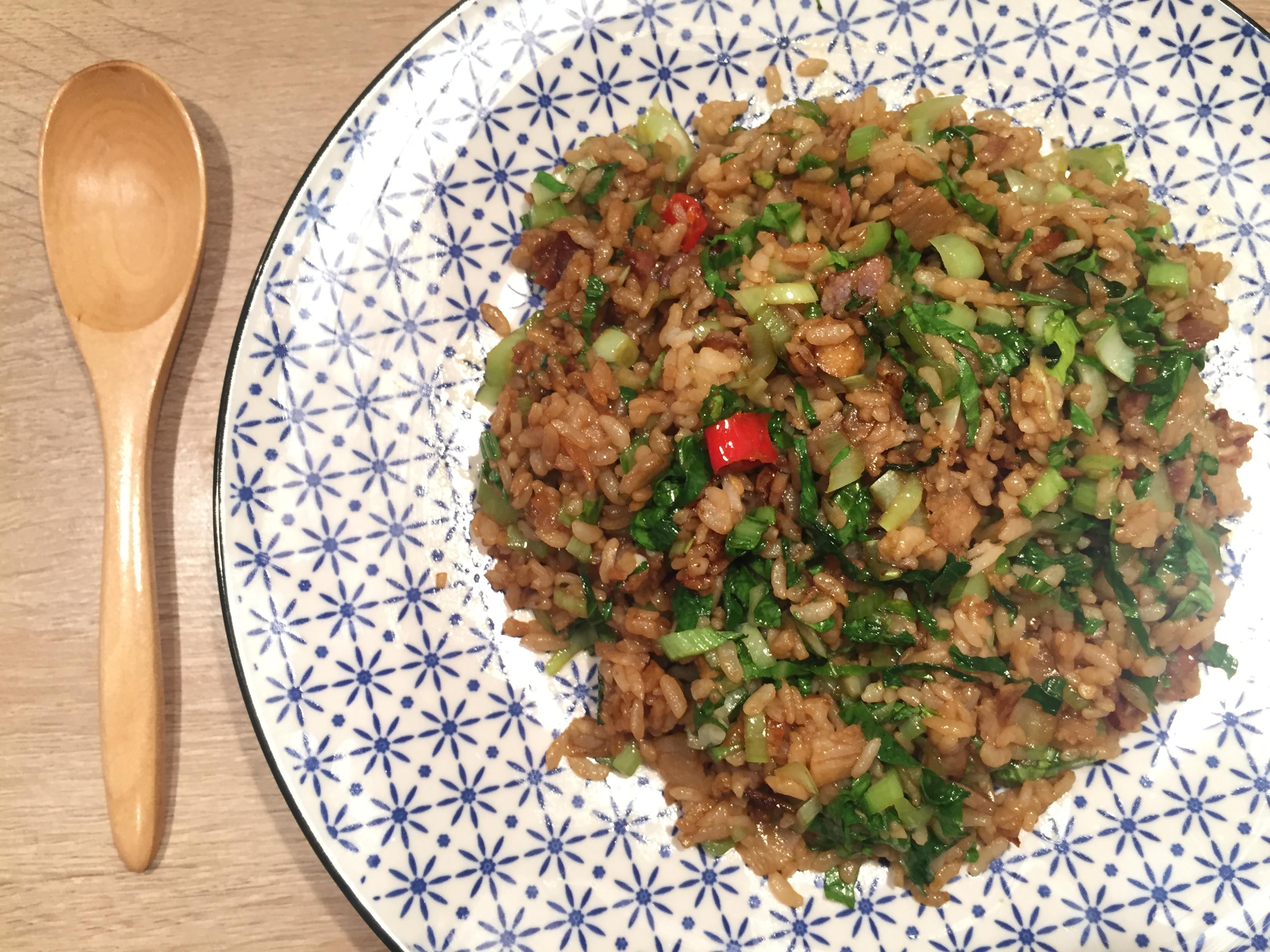 偽上海菜飯(快速上菜)