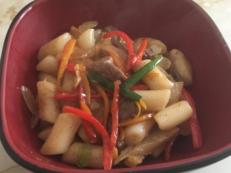 韓式醬炒年糕