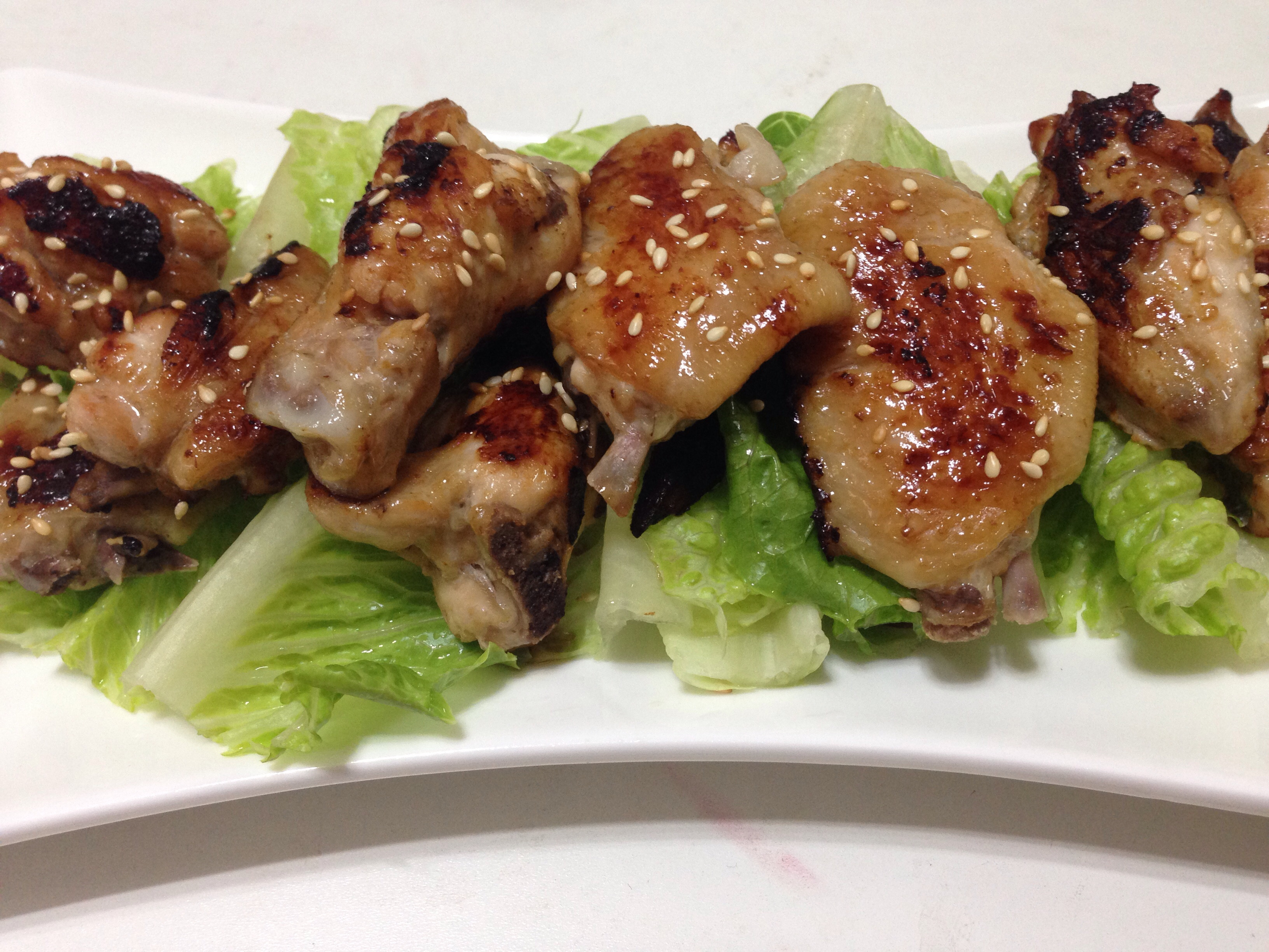 蜜汁烤小雞翅(平底鍋版)